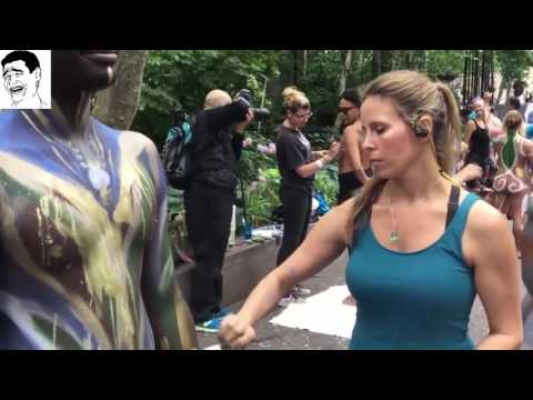 Annual Bodypainting Day 2016, New York Body Painting ...