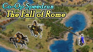"""How Fast Can We Win """"The Fall of Rome""""?   Co-Op Speedrun"""