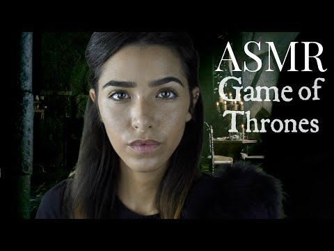 ASMR Game of Thrones RP - Treating your wounds! (Face massage, Face Touching, Scalp inspection..)