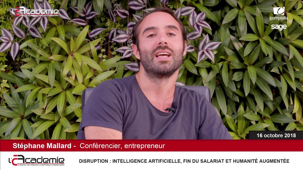 Entretiens de l'Académie : Stéphane Mallard