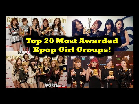 Top 20 Most Awarded Kpop Girl Groups!