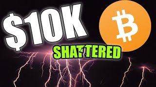 BITCOIN SHATTERS $10K | BTC NOW APPROACHING $11k LIVE