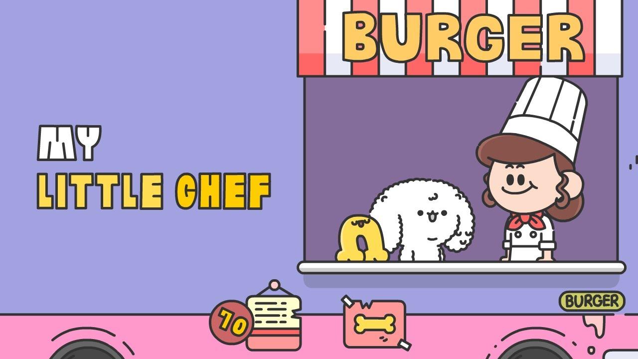 BobiBoni Animation - Rice burger | 밥이본이 애니메이션 - 밥버거(BobiBoni X Cookingadventure)