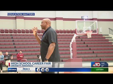 Crossett High School Career Day