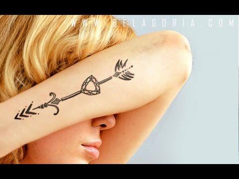 Tatuajes De Flechas Originales Para Chicas Y Chicos Youtube