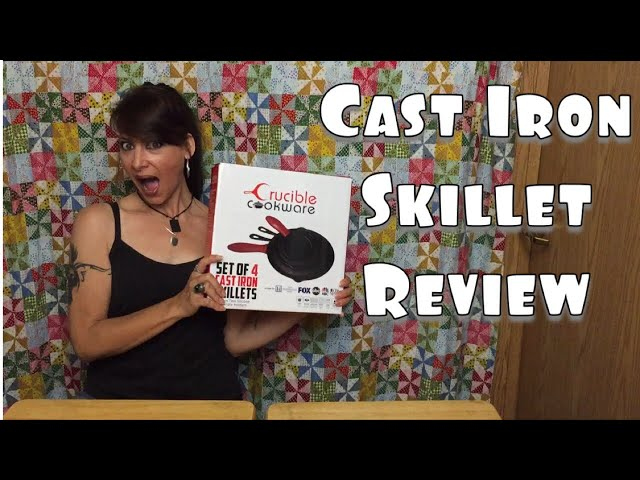 Crucible Cookware Cast Iron  Set Review