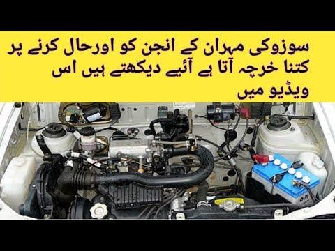 Suzuki Mehran in Suzuki Maruti Engine Overhaul Costume Urdu in Hindi