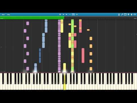 Geometry Dash - Time Machine Synthesia +MIDI Download