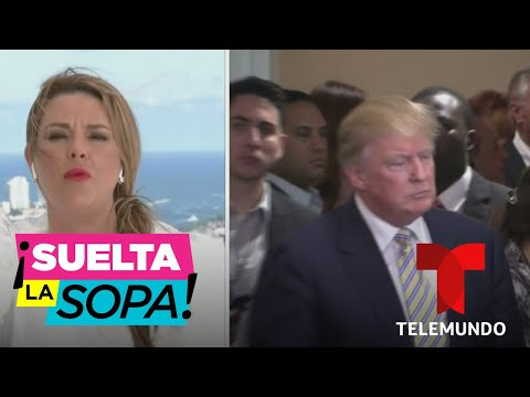 Alicia Machado responde si votará o no por Donald Trump | Suelta La Sopa