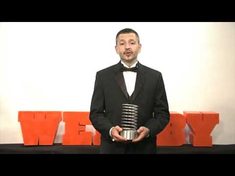 American Institute of Architects' 5-Word Speech at the 15th Annual Webby Awards
