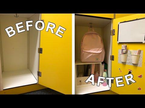 Decorate My Locker With Me + Locker Tour