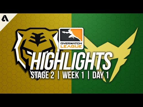 Seoul Dynasty vs Los Angeles Valiant | Overwatch League Highlights OWL Stage 2 Week 1 Day 1