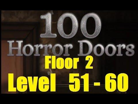 100 Doors Horror Level 51 60 Floor 2 Двери