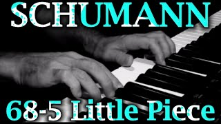 Robert SCHUMANN: Op. 68, No. 5 (Little Piece)