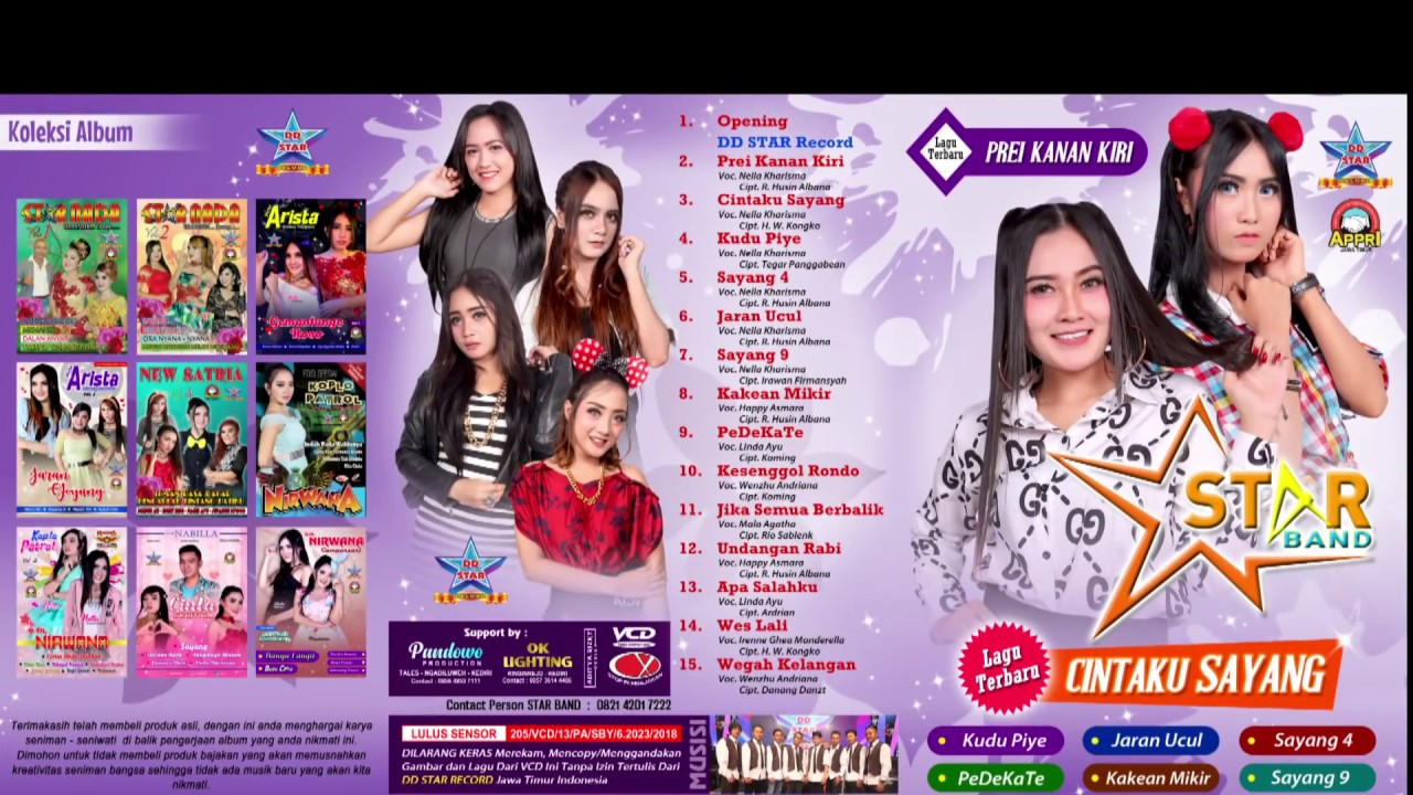 Nella Kharisma Dkk Promo Album Star Band Official Youtube