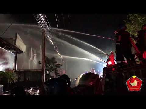 Kebakaran di Jalan Dr Sutomo Samarinda | 19 Mei 2018