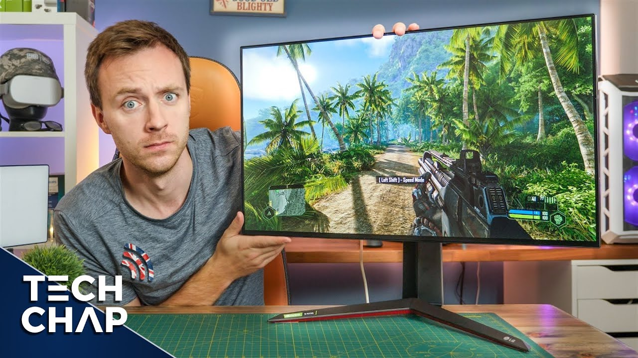 The Perfect 4K 144hz GAMING Monitor!? (LG 27GN950 Review) | The Tech Chap