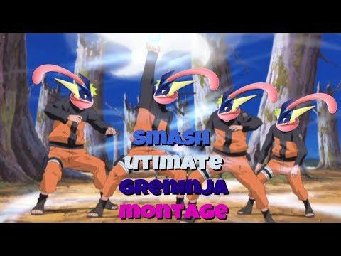 """GRENINJA IS NARUTO"" (super Smash Bros. Ultimate Montage"