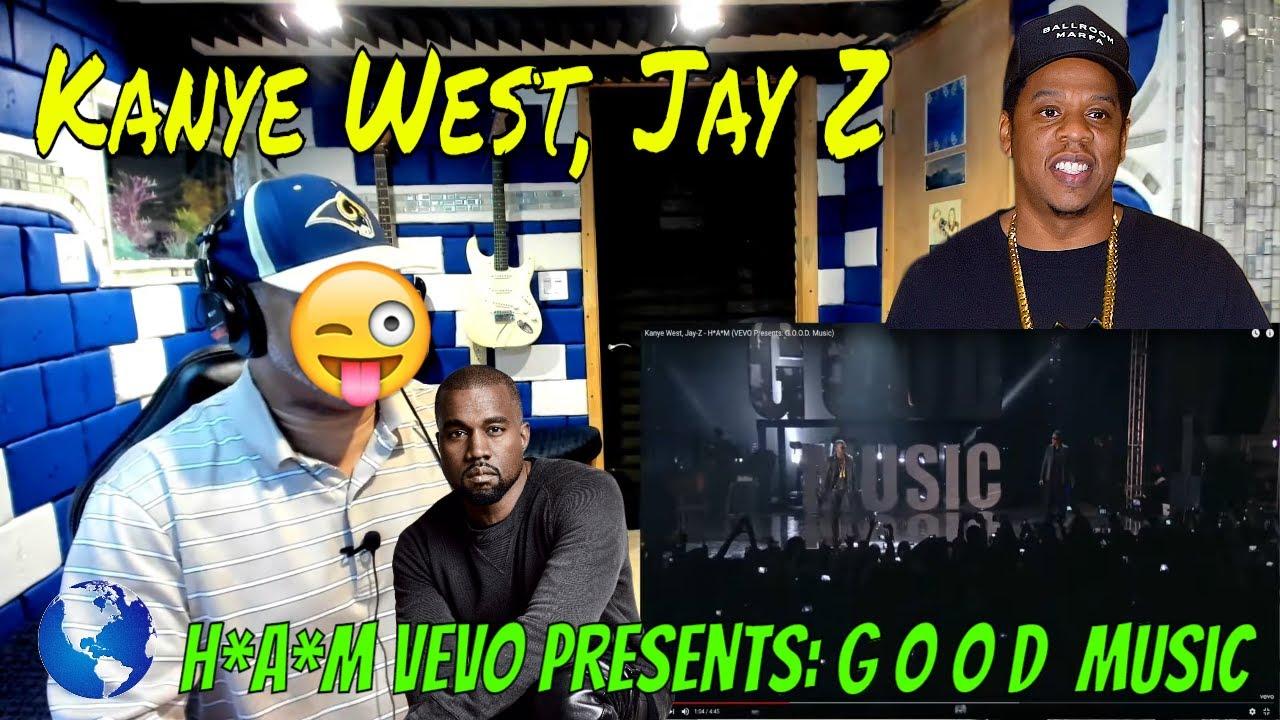 Download Kanye West, Jay Z   H*A*M VEVO Presents: G O O D  Music - Producer Reaction