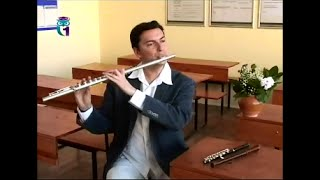 Уроки музыки # 12. Флейта. Виктор Хотулев