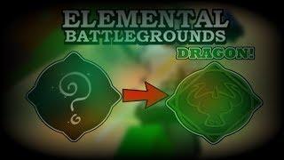 Neues Element ist endlich REVEALED! (DRACHENELEMENT!) | Roblox Elementares Schlachtfeld