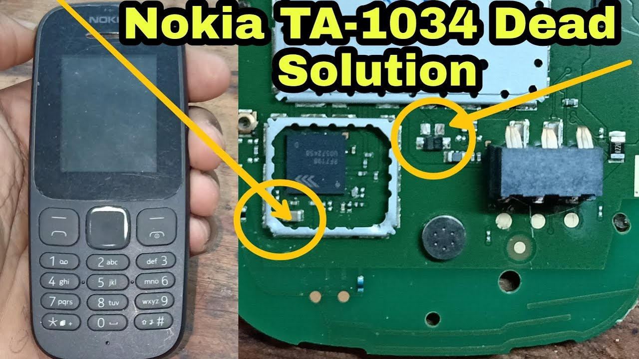 Nokia Ta 1034 Dead Solution Youtube Circuit Diagram Charger