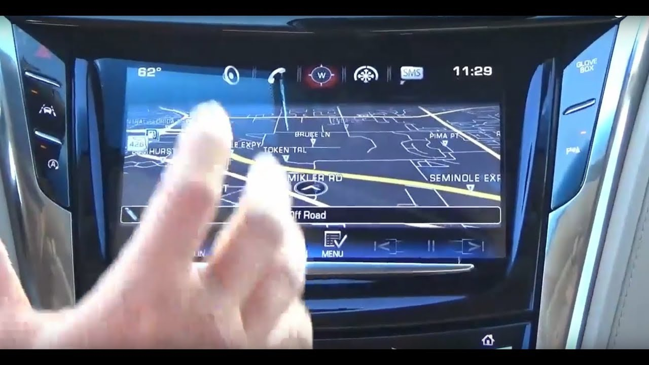Cadillac CTS ATS XTS Cue Infotainment Factory IO6 GPS Navigation Upgrade -  Easy Install!