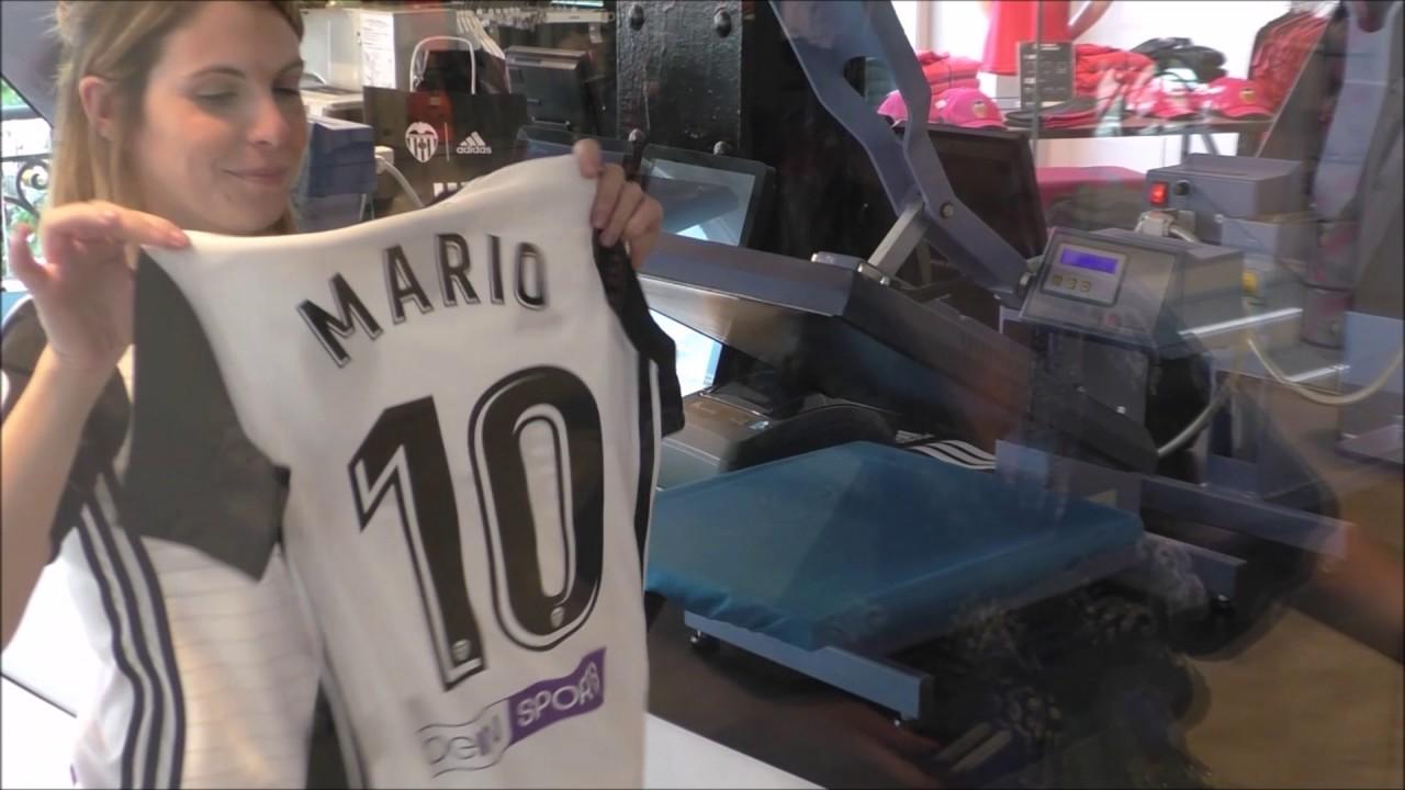 Camiseta Valencia CF en venta
