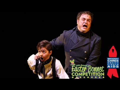 Youngest Jean Valjean Ever in Broadway's Les Miserables - Easter Bonnet 2015