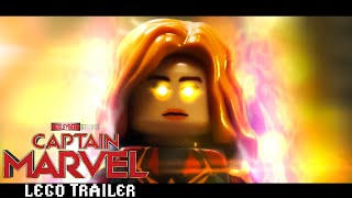 Captain Marvel Trailer in LEGO