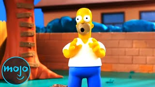 Top 10 Times Shows Made Fun of The Simpsons