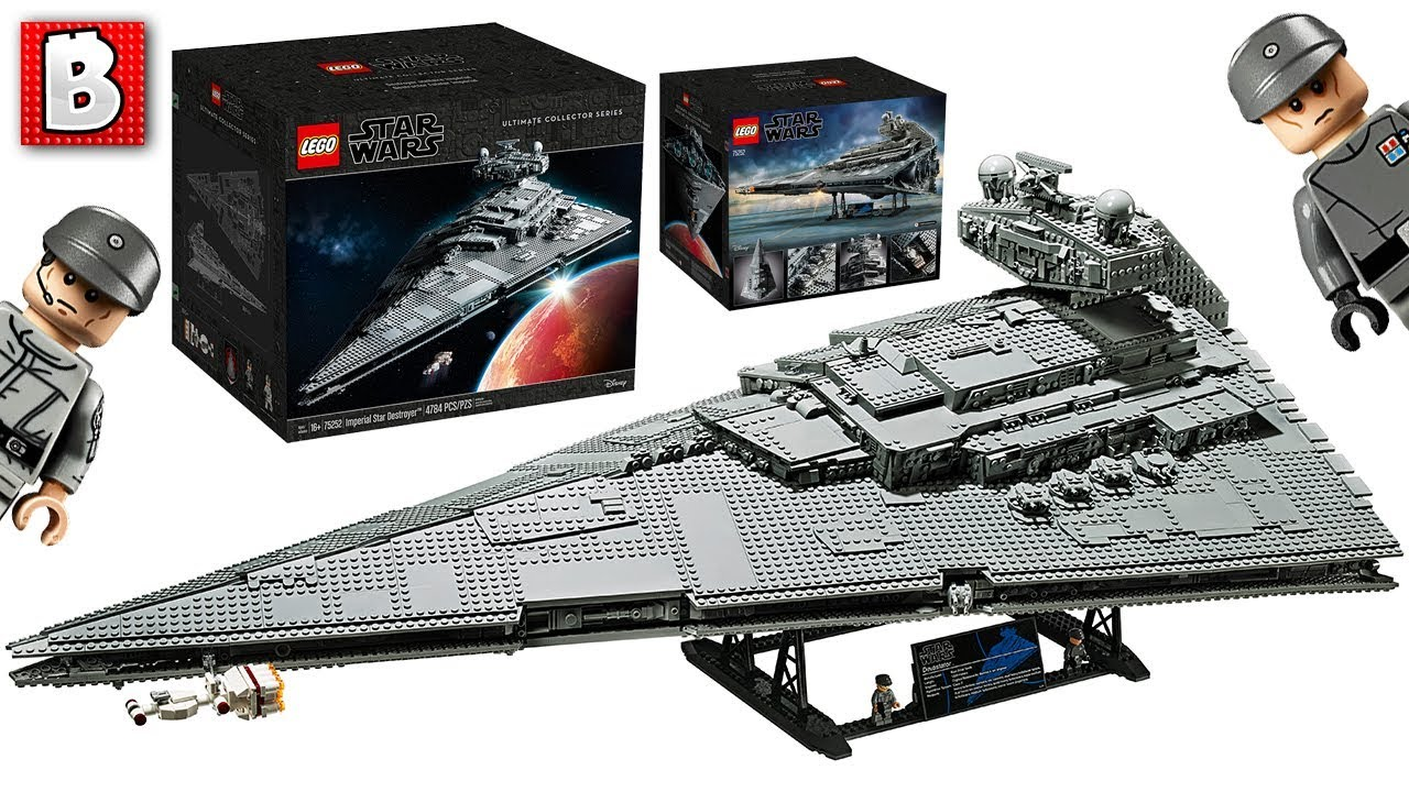 Lego Ucs Imperial Star Destroyer 75252 Star Wars Set Officially Revealed Full Breakdown