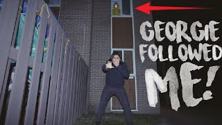 "GEORGIE FROM ""IT"" FOLLOWED ME BACK TO MY HOUSE AND HE WILL NOT LEAVE! 