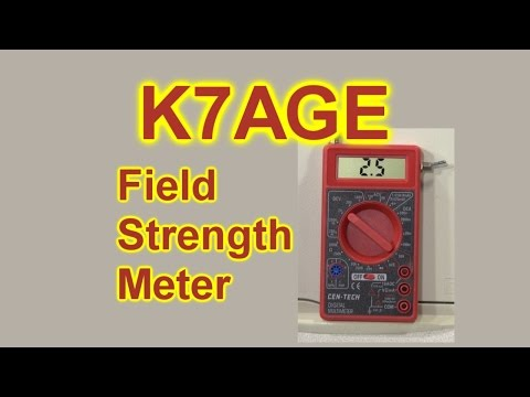 Let's Build A Field Strength Meter