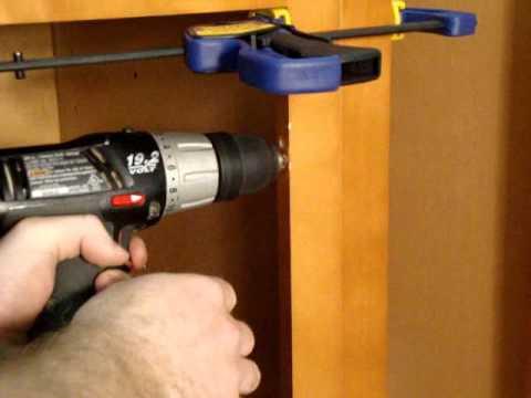 RTA Kitchen Cabinet Installation Instructions.wmv - YouTube