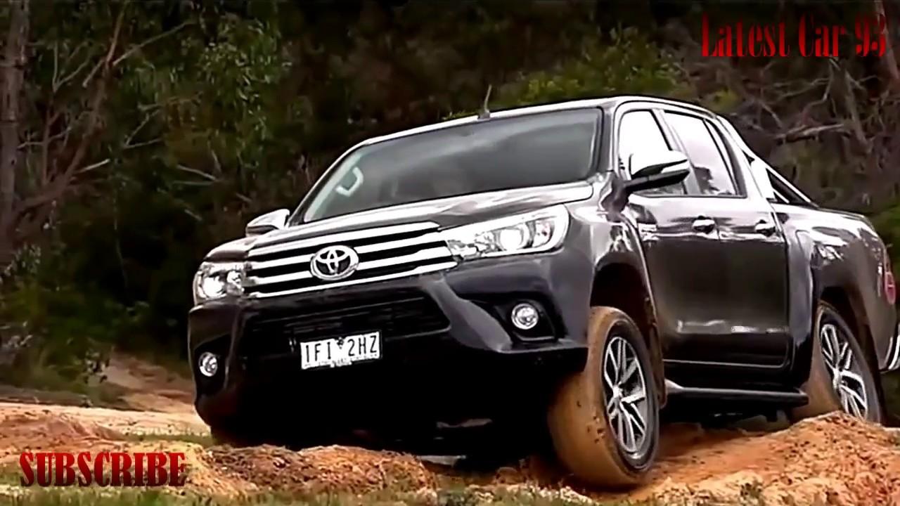 2017-2018 Toyota Hilux New Models