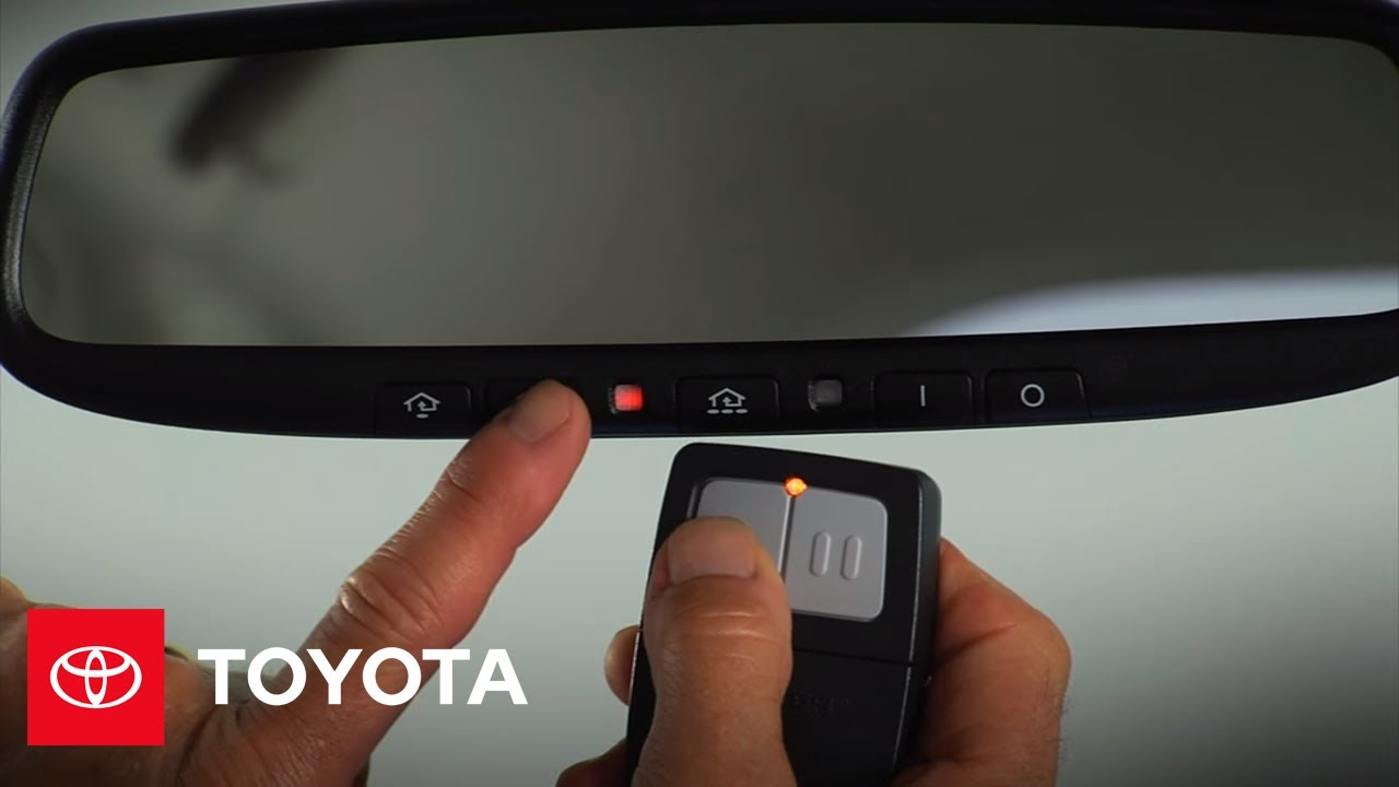 2010 Prius How-To: HomeLink® | Toyota