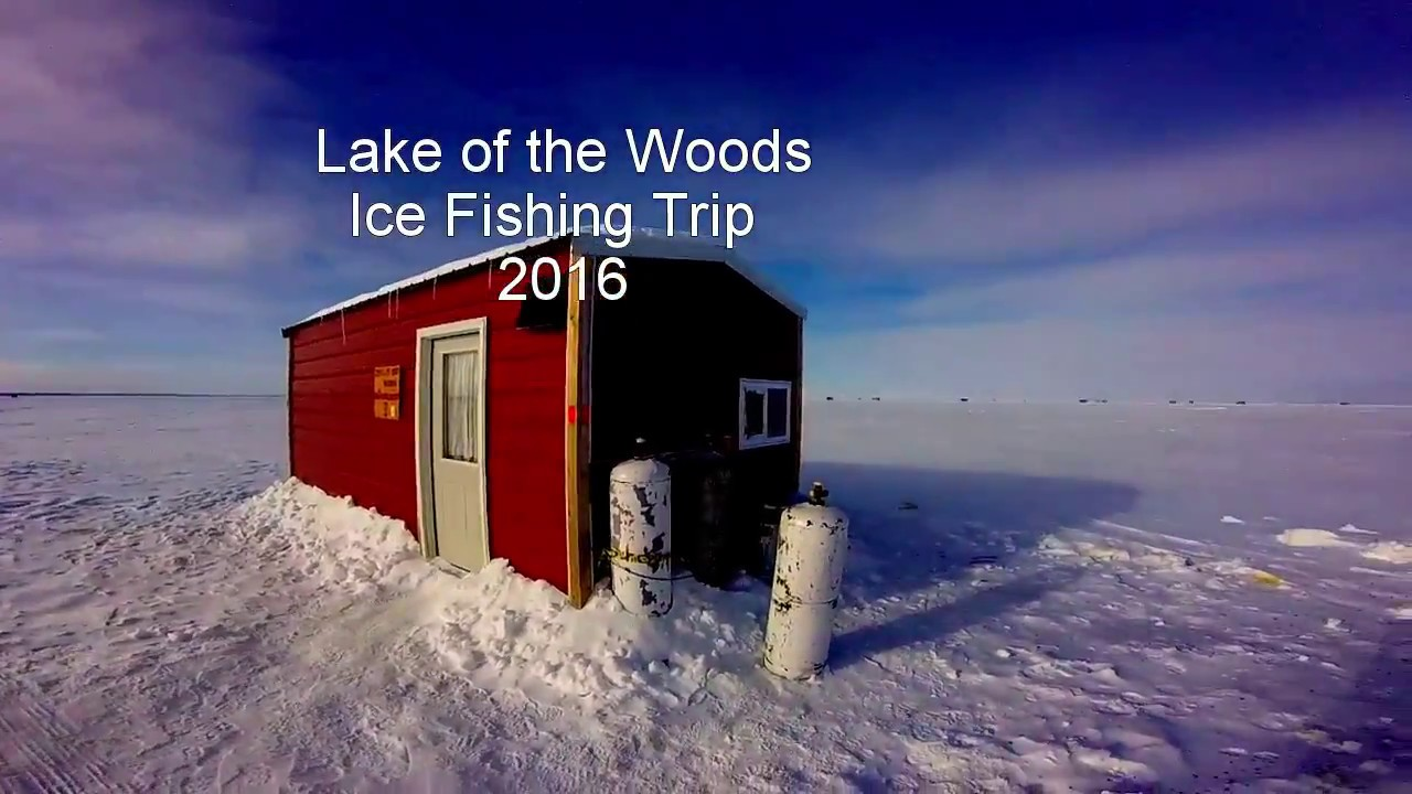 Lake of the woods ice fishing trip 2016 youtube for Lake of the woods ice fishing report