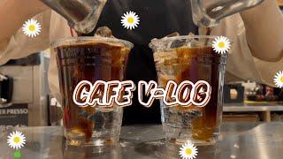 Eng) Cafe vlog #25: 요거프레소 카페알바…