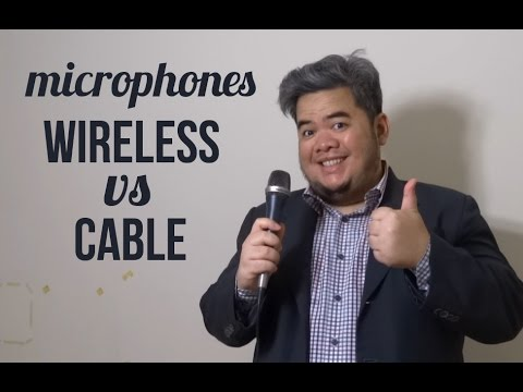 Wireless vs Cable Microphones