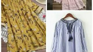Short stylish and beautiful trending kurtis designs