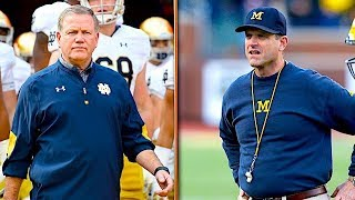 Chris Simms: Notre Dame Is Better Than Clemson; Harbaugh Has to Beat OSU | The Dan Patrick Show