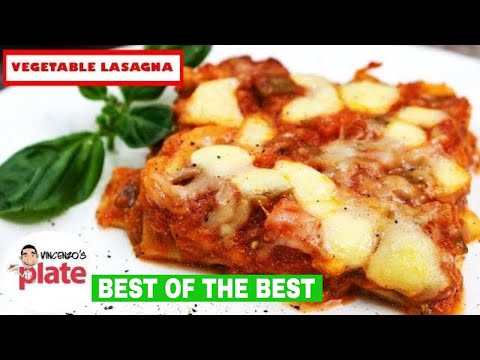 Best VEGETARIAN LASAGNA Recipe EVER