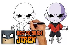 How to Draw Jiren | Dragon Ball Super (Step by Step Drawing Tutorial)