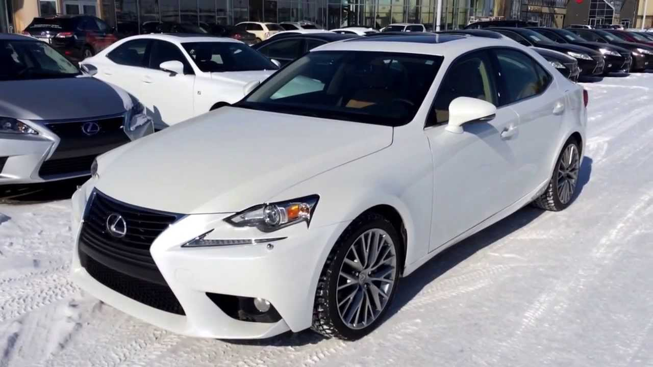 2014 lexus is 250 awd executive demo premium package review youtube. Black Bedroom Furniture Sets. Home Design Ideas