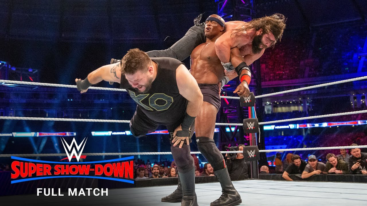 FULL MATCH - John Cena & Bobby Lashley vs. Kevin Owens & Elias: WWE Super Show-Down 2018