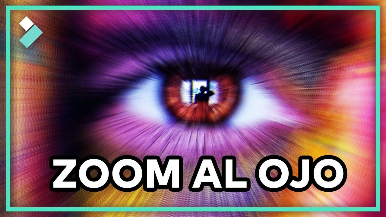 😮⚡Transición ZOOM AL OJO con Wondershare Filmora (Fácil y Original)