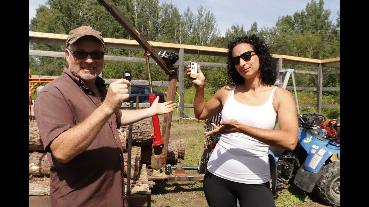 She Loves This...An Upgrade For Our Log Crane.  Off Grid Homesteading.