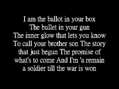 The Boondocks Theme lyrics