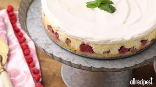 Dessert Recipes - How to Make Rhubarb Cheesecake